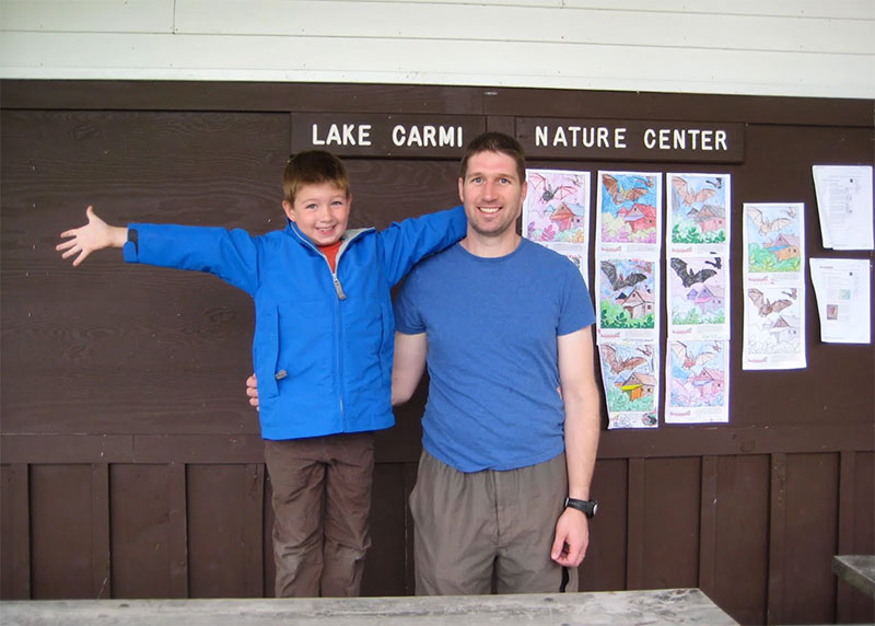 The nature center is a great place to learn and have fun