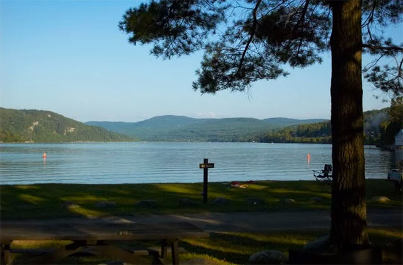 Visit Crystal Lake This Summer, A Brilliant Blue Lake In