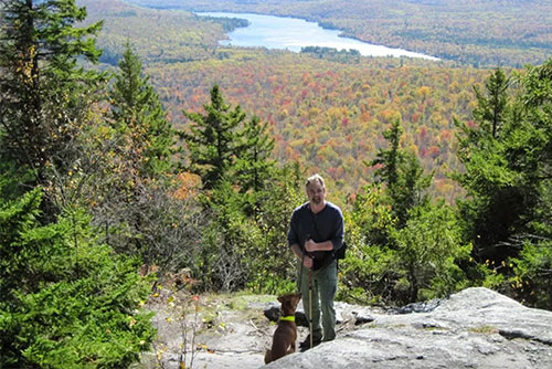 Hiking with pets in Groton State Forest