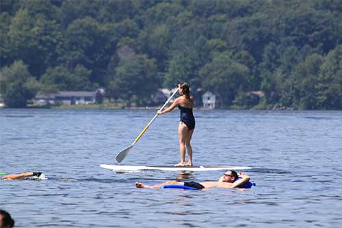 A great day for some stand-up paddleboarding (photo credit: Paul Carney)