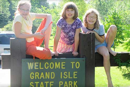 Welcome to Grand Isle State Park!