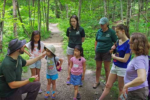 A nature program at Niquette Bay State Park (photo credit: Jessica Clarke)