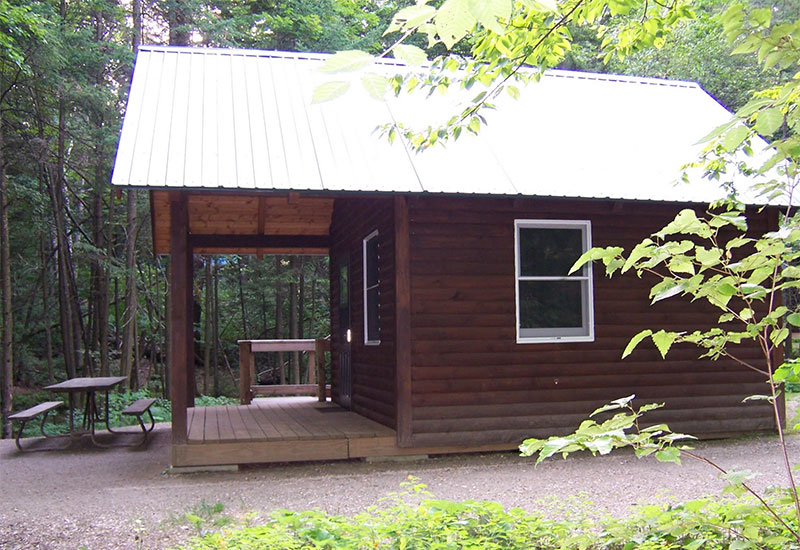 Vermont state parks cabins for Lake champlain cabins and cottages
