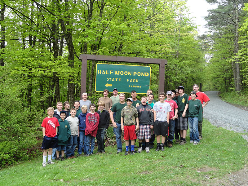 Campground volunteers