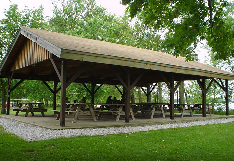 he pavilion can be rented separately or in conjunction with the Rocky Point House function room, porch and lawn area
