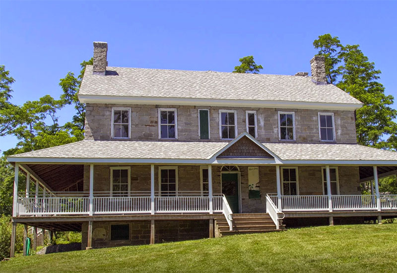 The Hawley House can be rented separately or with the banquet hall and theater building