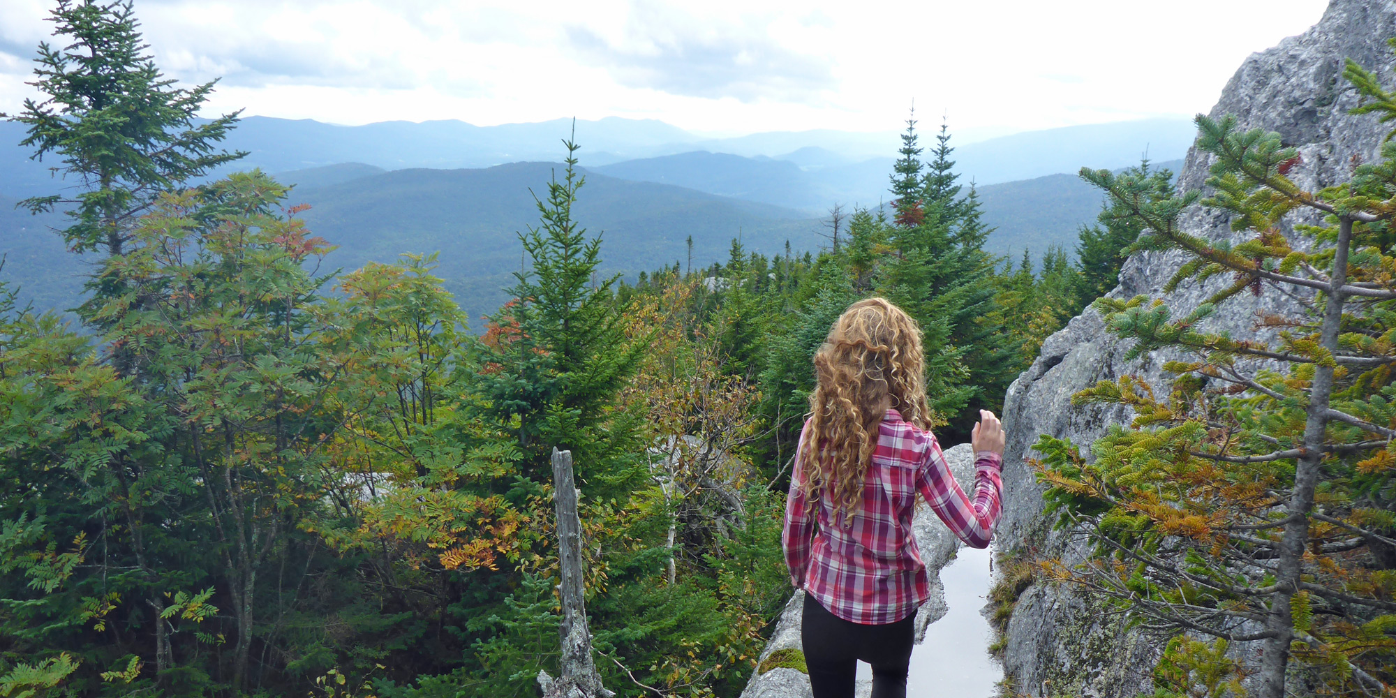 Hiking in Vermont State Parks