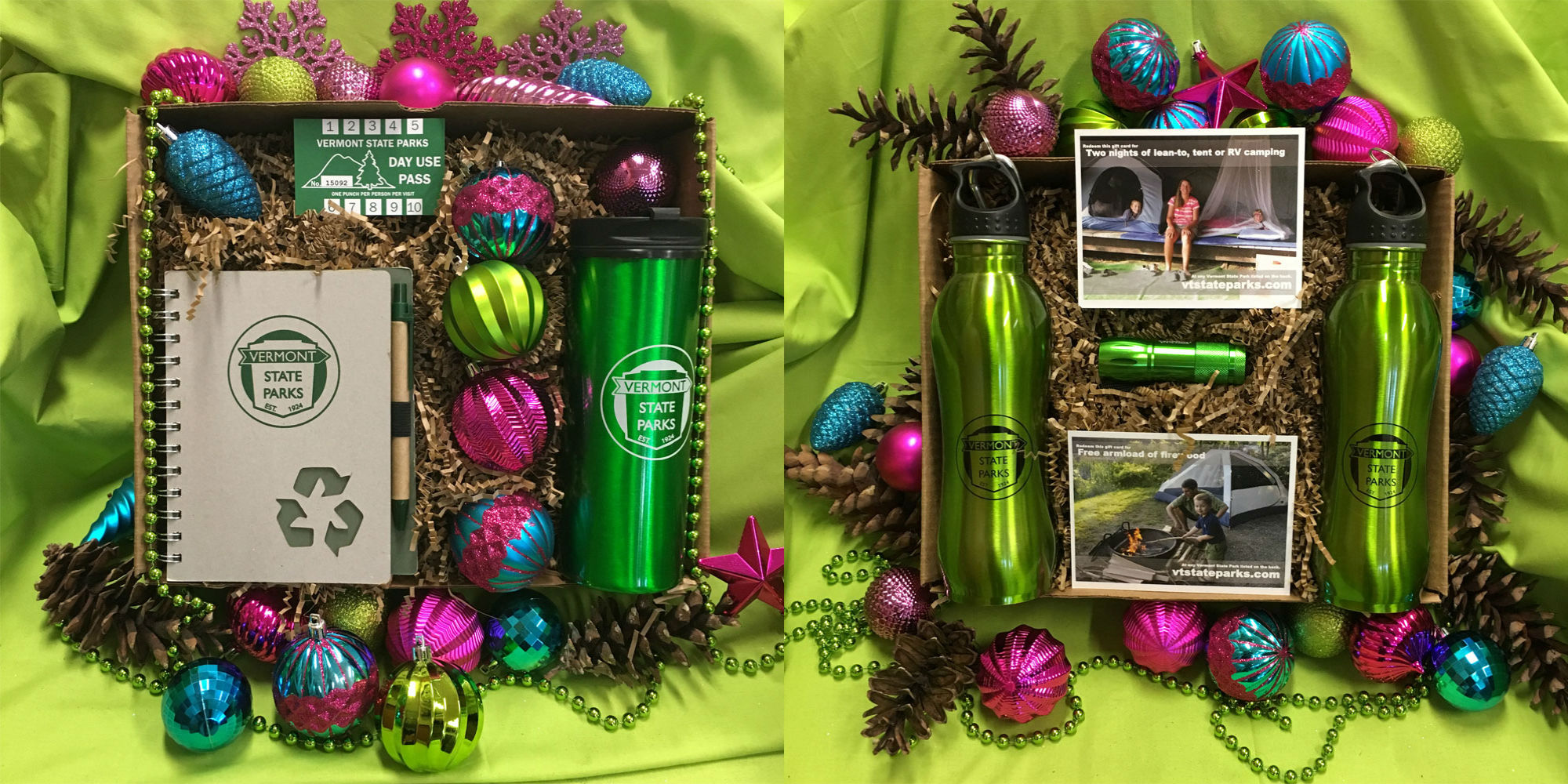 Holiday Gifts from Vermont State Parks