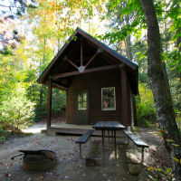 New cabins at Mt. Ascutney