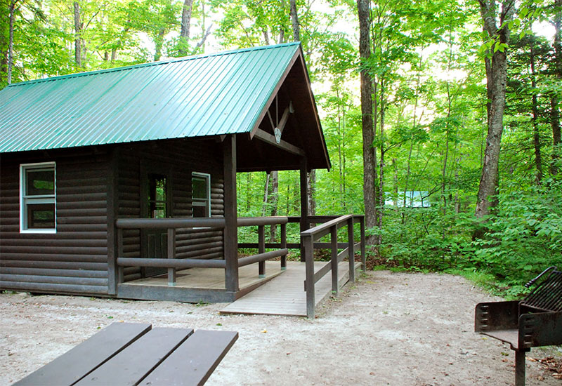 Ricker Pond cabin